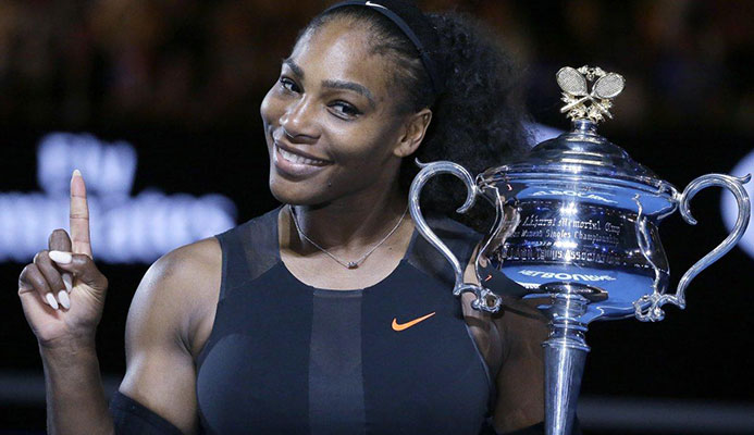 Serena Williams would only be around 'No. 700 in the world' if she were on the men's circuit, believes John McEnroe. (AARON FAVILA/AP)