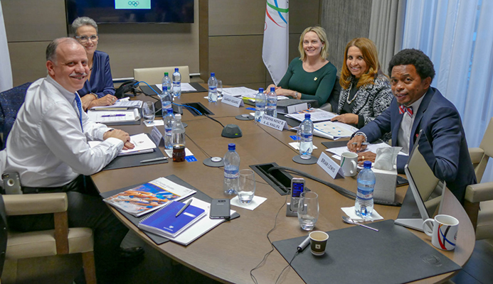 ANOC GENDER EQUITY COMMISSION HOLDS FIRST MEETING IN LAUSANNE