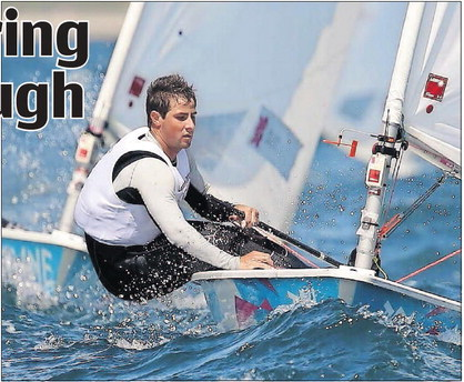 RESILIENT: Trinidad and Tobago sailor Andrew Lewis