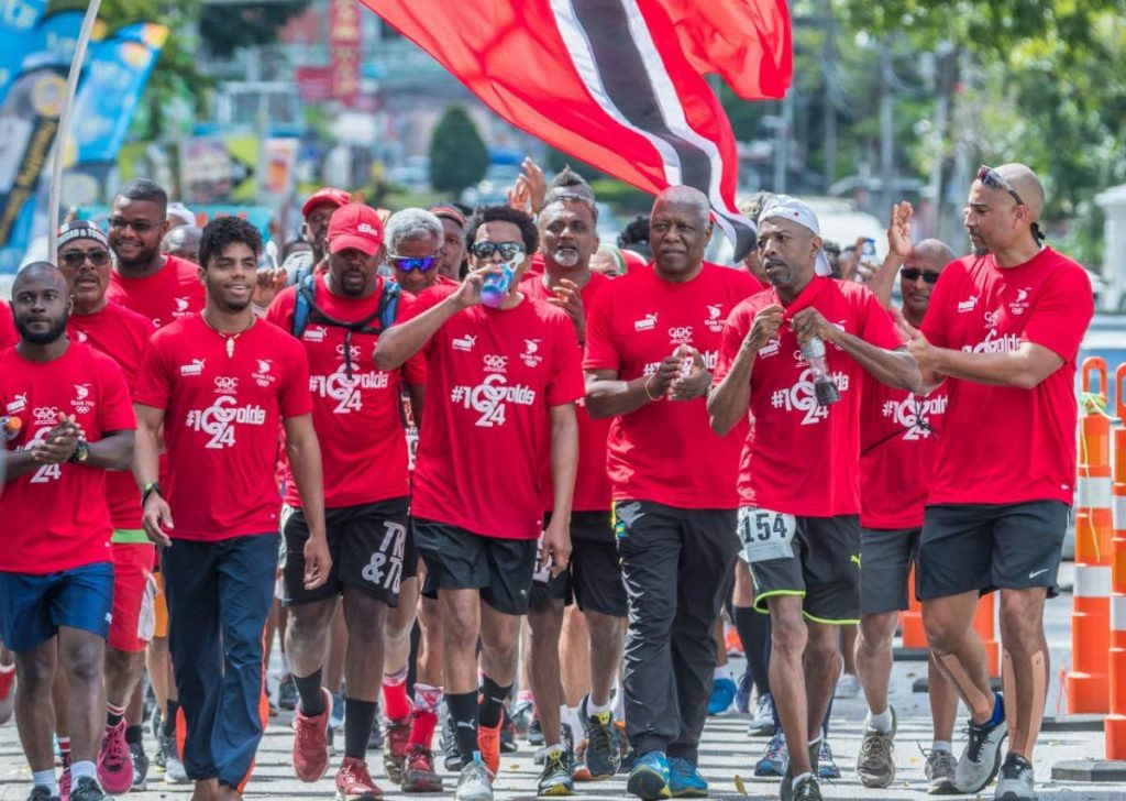 A team from the Trinidad and Tobago Olympic Committee will take part in a virtual marathon ©TTOC